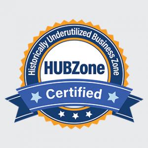 HUBZone Historically Underutilized Business Zone Certified